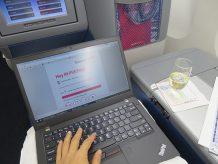 成田からホノルル ハワイ便 搭乗前に Tmobileのプリペイド WIFIルーターにチャージする