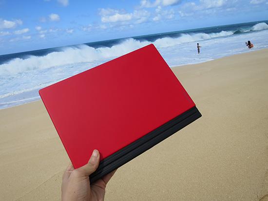 X1 Tablet 赤いキーボードにして正解だった