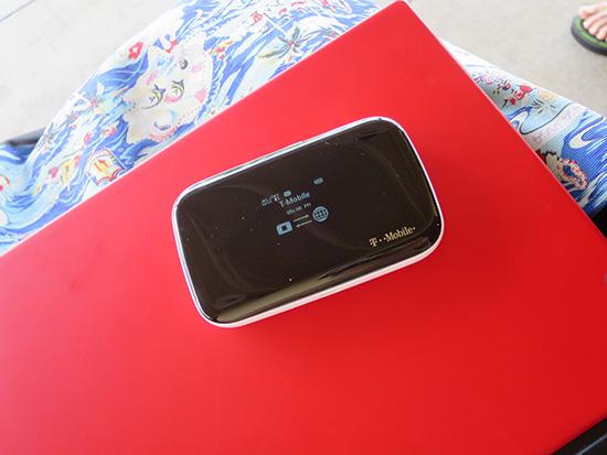 x1 Tabletとtmobileのwifiルーター