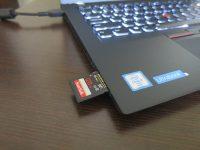 ThinkPad T460s SDカードスロットが搭載