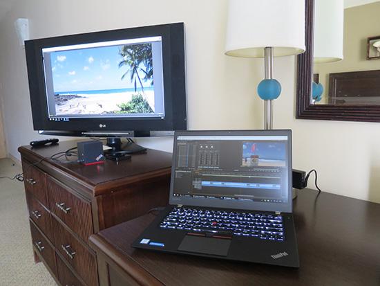 ThinkPad WiGigドックとT460s ケーブルレスでマルチモニタ