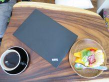 ThinkPad X260 コーヒーとパパイヤボート