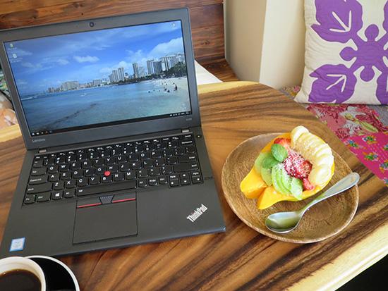 ThinkPad X260のキーボードが打ちやすい