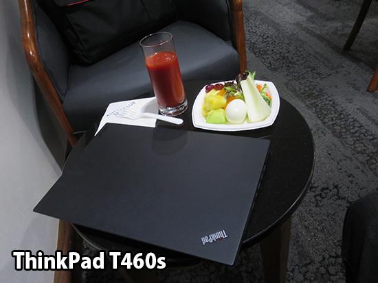 デルタ ホノルル空港 ラウンジ ThinkPad T460sで一仕事
