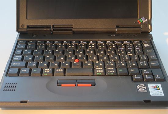 ThinkPad 240 キーボード部分