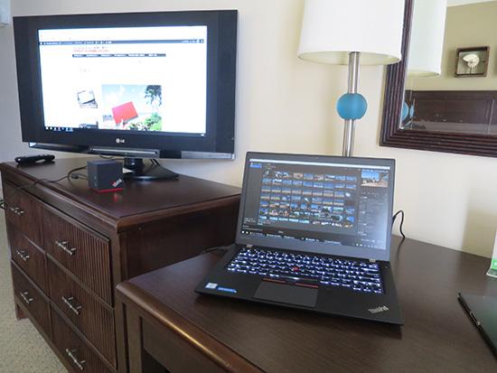 ThinkPad T460s wigigドックでデュアルモニタ