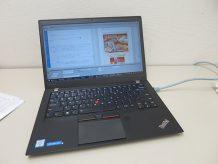ThinkPad T460s ドリームウィーバーでテレビ放映用のサイト作成