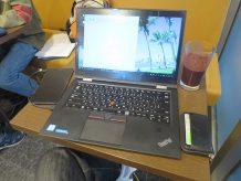 ThinkPad X1 Yogaでスマホを充電しつつテザリング