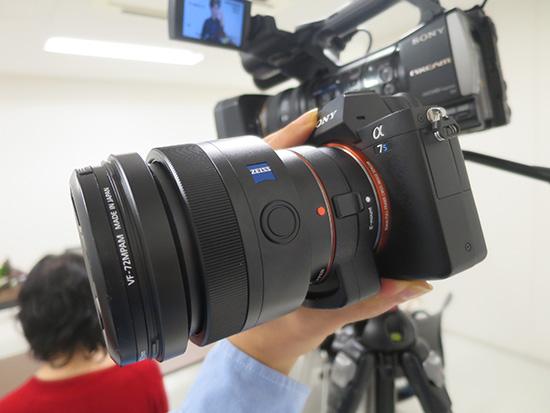 α7S II +Planar T* 85mm F1.4で午後のスチール撮影