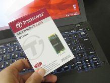 ThinkPad X250 m.2 SSD 2242 は認識するのか?
