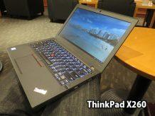Thinkpad X260が飛行機出張の相棒