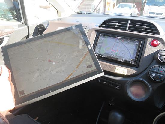 X1 tabletでグーグルマップを表示させてみる