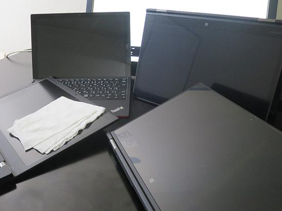 ThinkPad マルチタッチ液晶が増えてきた