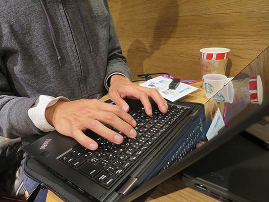 X200sユーザーがYoga 260のキーボードを打ってみる