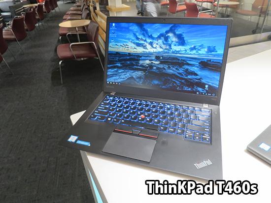 ThinkPad T460sはデスクトップ代わりにホテルで使う予定