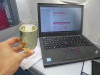 シャンパンで乾杯!ThinkPad X260