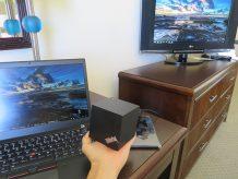 ホテルの部屋でThinkPad WiGigドックとT460sの使い方