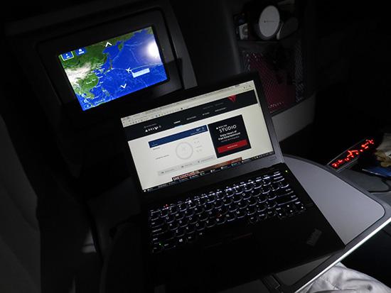 ThinkPad X260 ハワイ便 デルタのWIFIを6回使ってみて・・・