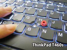 ThinkPad T460s トラックポイント交換後 感度が軽く カーソル操作が速い