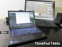 thinkpad T460s デスクトップPC代わりにして動画編集