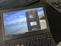 ThinkPad X260 マイクの位置