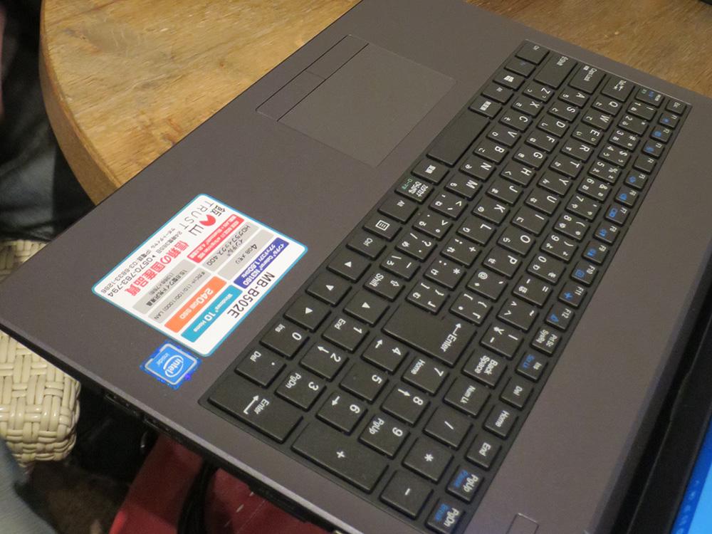 ThinkPad X230ユーザーがマウスのm-Book MB-B502Eキーボードをたたいてみたら・・・