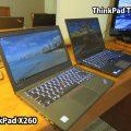 ThinkPad T460sとX260を持ってまずは旅前にホテルに前泊