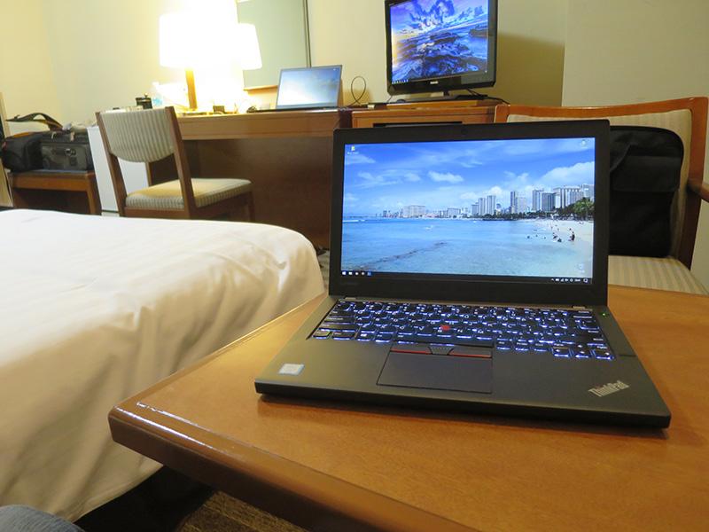 ThinkPad X260と遠くにT460s