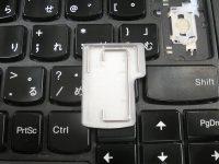 ThinkPad T440p キートップだけ交換出来ないので ヤフオクでキーボードを購入