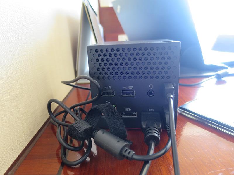 WiGigドックホテルではシンプルな接続構成