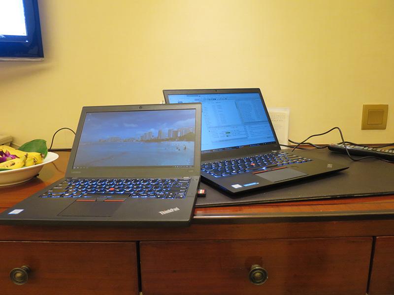 ThinkPad X260とT460s データのやりとりにSDカードが便利