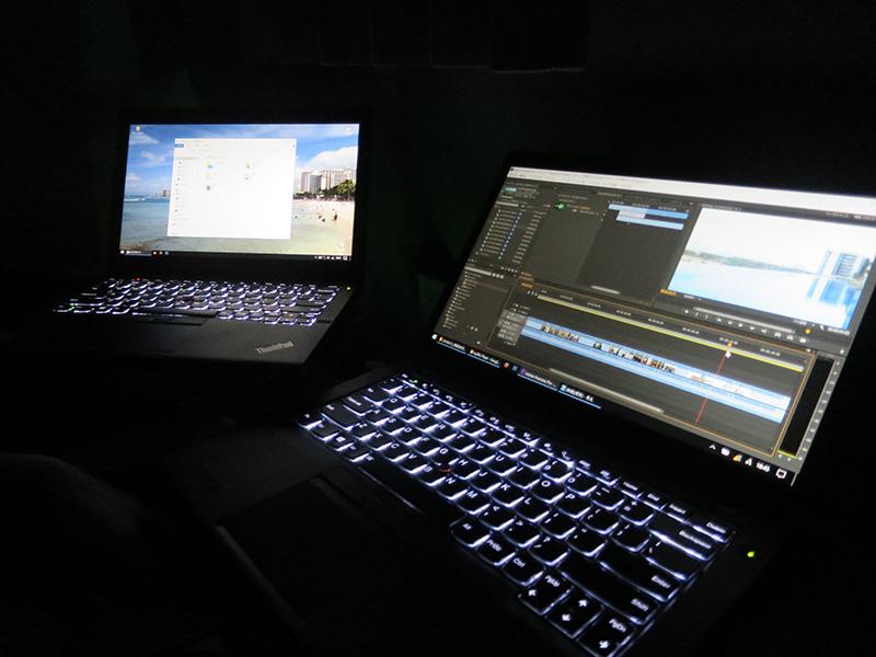 T460s動画書き出し中はX260を使用