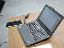 ThinkPad X260 プロジェクターに映らないを防ぐための準備と対処