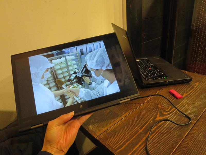 X1 Yoga タブレットモードで写真のスライドショー