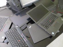 ThinkPad 7台をまとめて掃除