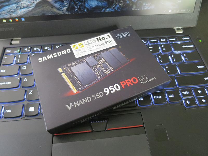 ThinkPad T460s NVMeに交換しようとするも・・・