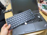 ThinkPad T440p キーボード交換 するも・・・
