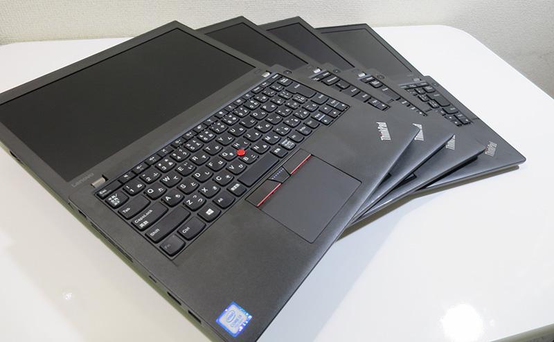たくさんのThinkPad Xシリーズ
