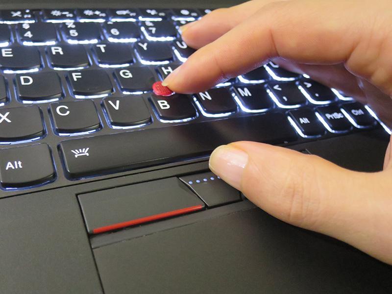 ThinkPad X260 センターボタンを押したときのカーソルアイコンがおかしい