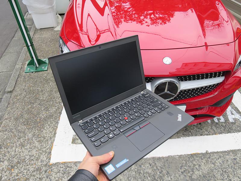 ThinkPad とメルセデスベンツの意外な共通点