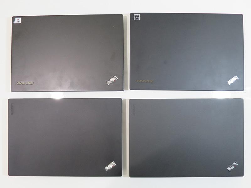 ThinkPad X240s X250 X260 X270 サイズはほぼ同じ