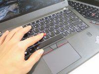 ThinkPad X260 センターボタンのスクロール量 X270のドライバで改善