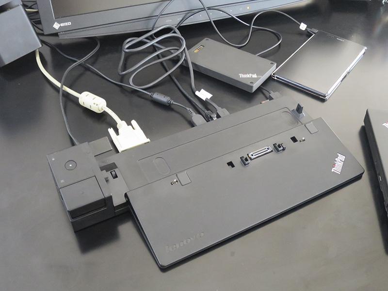 X270 ウルトラドックを使うと これだけの周辺機器が一気に認識する