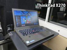 ThinkPad X270 テザリングよりも快適なLTE通信 電車移動中に使ってみる