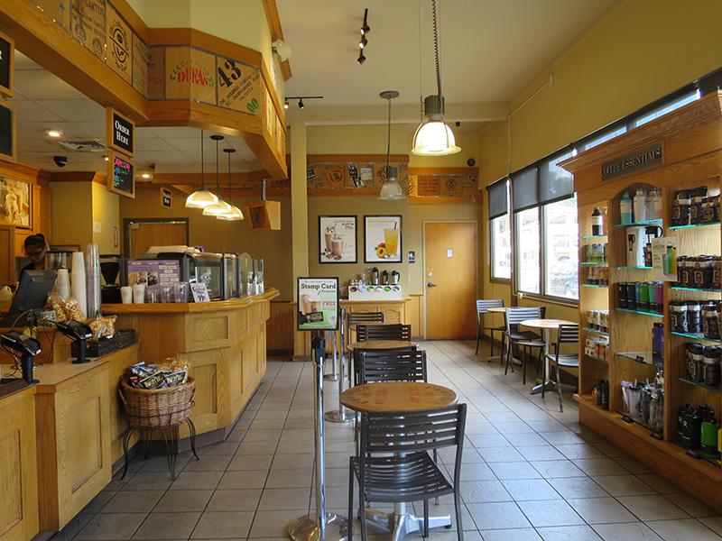 ハワイ コーヒービーンの店内