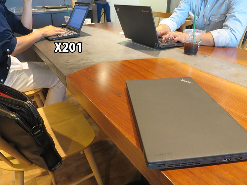 x270とかなり古いX201も
