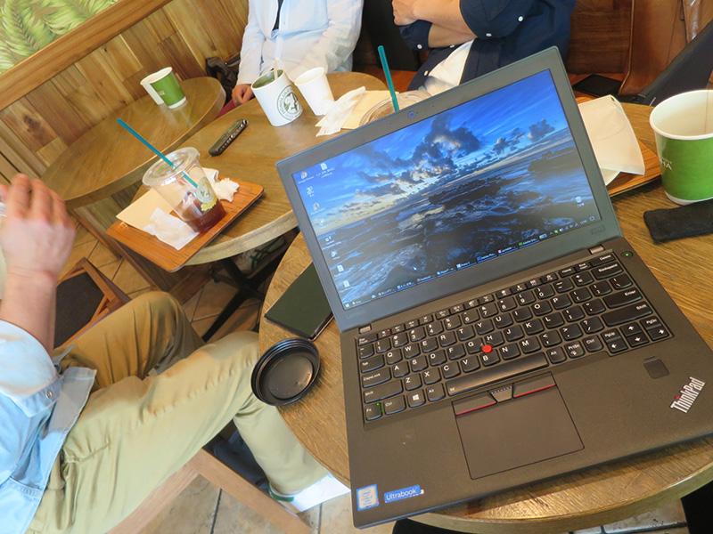 ThinkPad X270がタイムキーパー