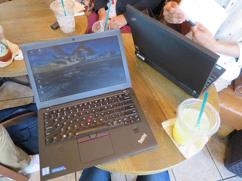 ThinkPad X270 落としても壊れにくい
