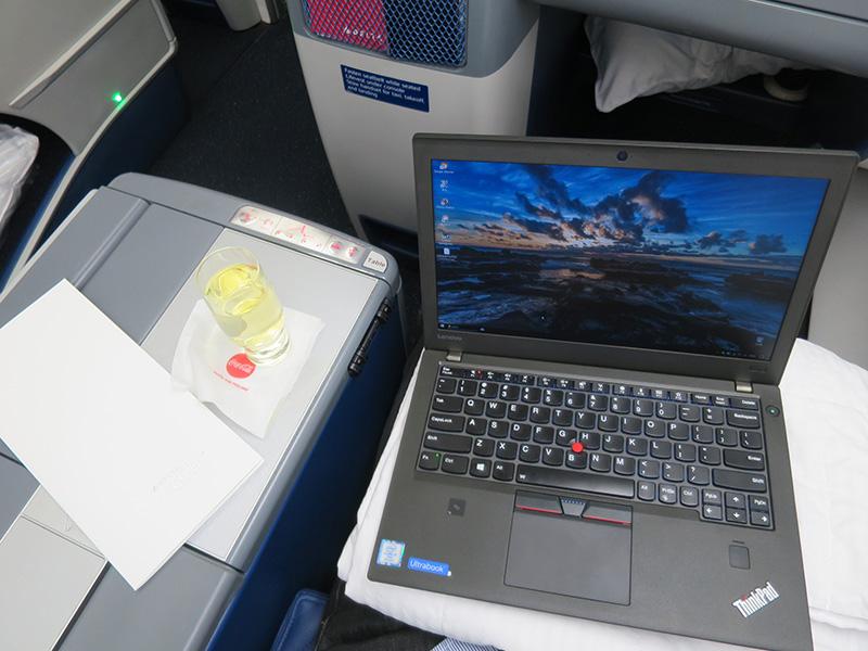 ThinkPad X270とシャンパンタイム