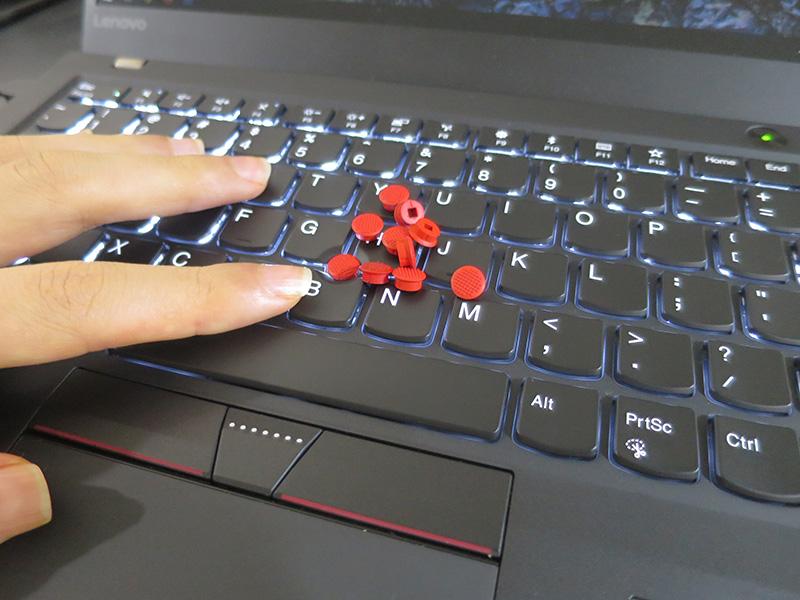 ThinkPad X1 Carbon トラックポイント 交換 速度 感度を速くする設定